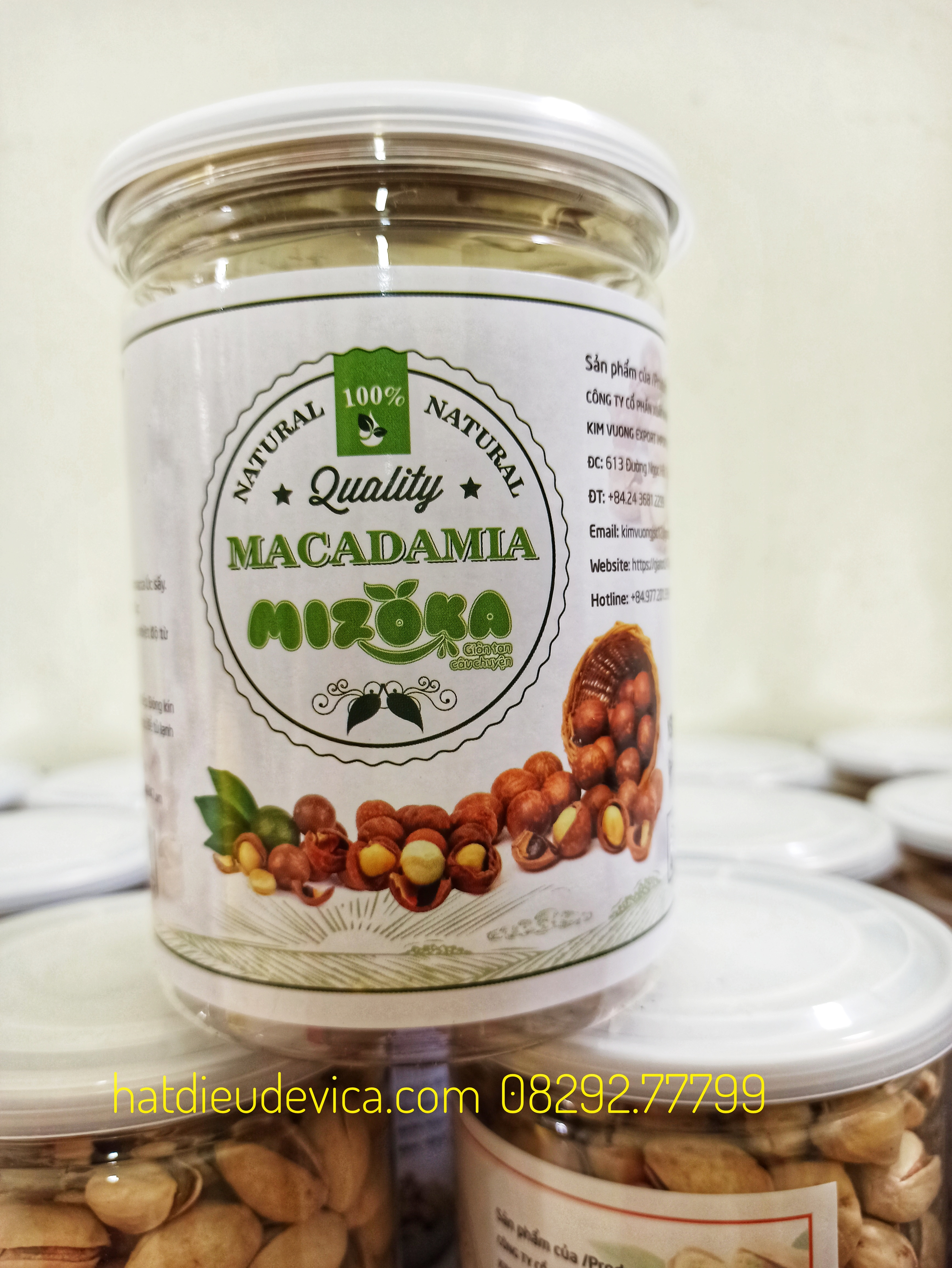 hũ hạt macca Úc